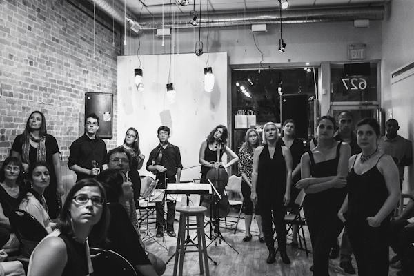 © Yoko Wikowitz Photography | Synesthesia I: 2012-2013 Season Launch at 627 Queen Street West - performers group photo