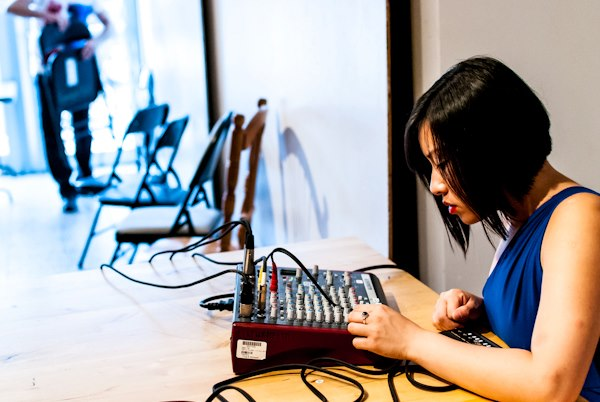 © Yoko Wikowitz Photography | Synesthesia I: 2012-2013 Season Launch at 627 Queen Street West - pictured: Nancy Tam (composer)